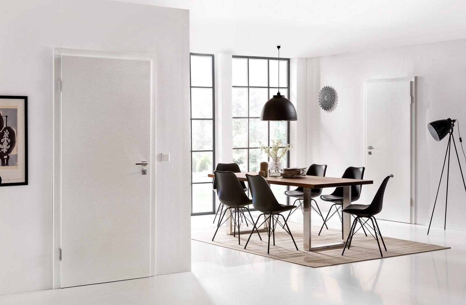 Glatte Türen: Blanke Türen